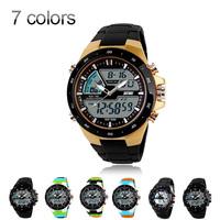 Fashion Casual watch men gold Relojes relogio masculino Digital Watch LED Outdoor Dress Quartz watch military women wristwatches