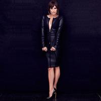 free shipping 2014 brand fashion tight long sleeve bandage dress 253