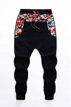 Camouflage Pants 2014 Hiphop Mens Joggers Pants Casual camo leg Sweatpants for Men Streetmen jogger pants men joggers Women boy(China (Mainland))