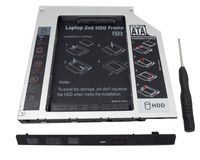 For Lenovo IdeaPad Z510 Z710 SATA 2nd Hard Drive Disk HDD/SSD Caddy Replace Optical DVD Drive