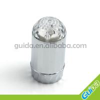 Glow flow led sink tap light for bathroom