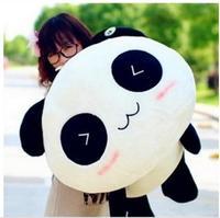 Free Shipping 1pc Plush toy doll cute big panda pillow cushion for leaning on of 55 cm panda bear gifts