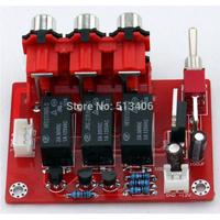 1PC 3 ways DC 12V 66*46mm Auido Input Switch Board