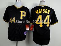 cheap stitched 2014  Pittsburgh Pirates 44 Tony Watson black/grey  baseball jersey/baseball shirt