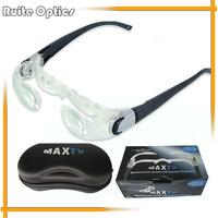 3Dpt MaxTV Binocular Glasses Magnifying Glasses Folding TV Screen Magnifier for Presbyopia People