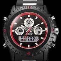 2014 New Brand Boileau 581 Dual Time Zone Digital Steel watches Muti-function Sports Fashion Military Waterproof  Wrist Watches