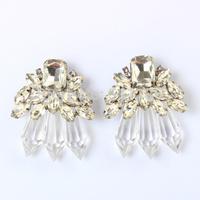 (min order $10) 2014 New Design Channel Brand  fashionShourouk Drop earrings KK-SC684