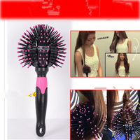2014 new fashion LUCKY 3D spherical shape comb, escova de cabelo hair comb professional styling tools hairbrush M10041