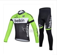 FREE SHIPPING!2014 new sportswear men's sports Belkin road ciclismo racing Cycling jersey maillot Bike clothing (bib) pant sets