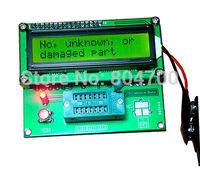 Transistor Tester Capacitor ESR Inductance Resistor LCR Meter NPN PNP MOSFET Analyzer  10pcs DHL fast shipping