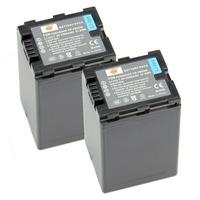 2PCS DSTE VW-VBN390 Full Decoded Battery compatible for Panasonic HDC-SD800GK, HDC-TM900, HDC-HS900, HDC-SD900, HC-X900M