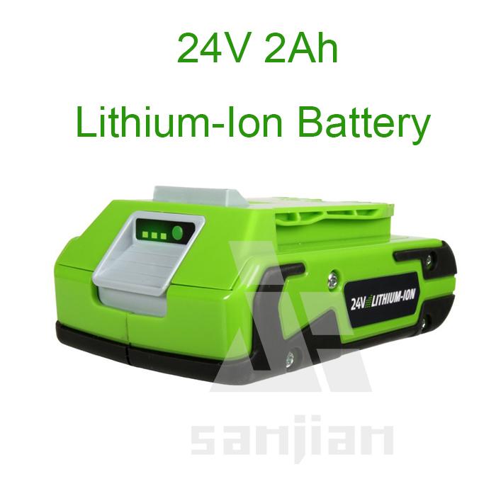 Аккумулятор Greenworks g/24 24V 2Ah 29842 аккумулятор rexant 12v 2 2ah 30 2022