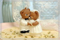 Wedding candles Romantic and creative candle   Tactic bear little candle Birthday candle Free shipping