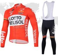 Winter 2014 Ropa ciclismo Lot new Warm Fleece Thermal Cycling Jersey bicicleta bicycle bike maillot long clothing bib pant