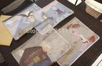 20 kawaii cartoon MACCHIATO Bunny PVC A4 file folder Document Holder Protector Bag