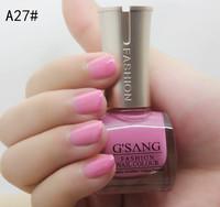 2014 china french G'SANG famous brand free shipping A27# beauty nail art lacquer sweet glaze color bulk nail laquer polish 24pcs