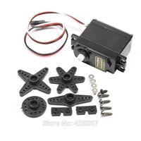 S3003 38G Mini Copper + PCB + Plastic Gear Steering Servo - Black (4.8V) Free Shipping