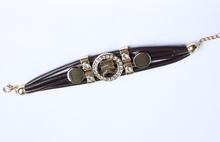 Free Shipping Luxury Women Kors Leather Bracelet Trendy Multi Color Bracelets Bangles For Sale