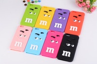 Top Sale! 2014 New 8 Colors Protecter Cover Rubber Soft Silicone Gel Skin Silicone Case Cover For Iphone 6 SV003682