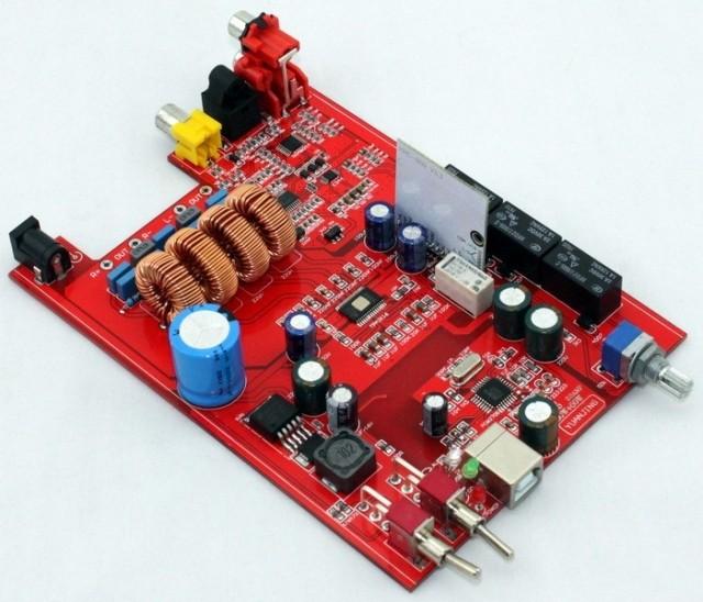 TPA3116 Bluetooth optical fiber amplifier board(China (Mainland))