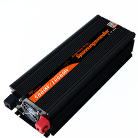DHL Fedex 10000 Watt 5000W 24V 220V 230V Sinus Wechselrichter spannungswandler Konverter  pure sine wave solar power inverter