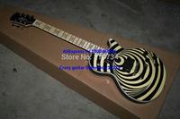 Wholesale - New Arrival Zakk Wylde LP Custom Vertigo and Killer Looks Electric Guitar Eye and Cream A123
