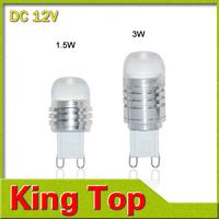 Christmas light Mini G9 COB 2w 3w  LED lamps DC12v Pendant lights High Power Refrigerator lights with CE ROHS 1PCS