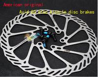 "Avid 2 Pcs HS1 G3 Bicycle Brake Disc Brake Block/Lining Rotors Mtb Bike Brake Pad 160mm 6"" With 6 Bolts Bb5/Bb7 System Disc"