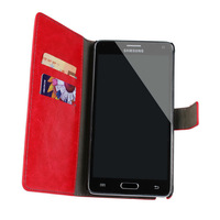 Wallet  Leather case With Stand Design and Card Holder For Samsung Galaxy Note 4 1pcs Free Shipping