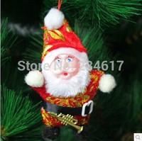 Merry ornaments christmas tree decoration santa claus plush doll kids toys for boys christmas gift