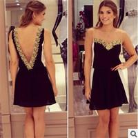 New 2014 Women Lace Dress Backless Deep V Lace Chiffon Dress Mesh Hollow Out Chiffon Floral Party Dresses Vestido De Renda 2540