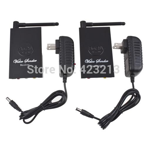 2.4GHz Wifi Wireless Audio/Video AV Transmitter Receiver Sender for DVD CCTV 4 Channels 100M(China (Mainland))