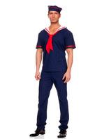 Hot Halloween navy blue sailor suit new cosplay costume