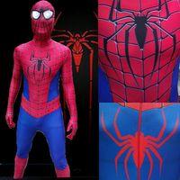 2014 new HALLOWEEN Cosplay  amazing Spiderman 2 Costume Hight Quality Cosplay Spider-Man