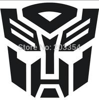 """Transformers Autobot Car Vinyl Decal Sticker Transformers Logo Car Styling Car Window Vinyl Decal Sticker 4.5"""" Wide"""