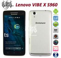 100% Original Lenovo VIBE X S960 5 inch android phones Quad core 1.5GHz FHD IPS 1920x1080px 2GB RAM 16GB 13.0MP Camera