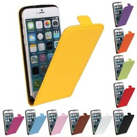 1PCS New Arrival 4.7 Inch Original Leather Case Cover For iPhone 6 Up And Down Flip Cover Phone Cases