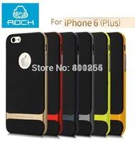 """ROCK Royce Series PC +TPU Matching Metallic Color Case For iPhone 6 Plus 4.7"""" & 5.5"""", mix color accept, 50pcs/lot Wholesale"""