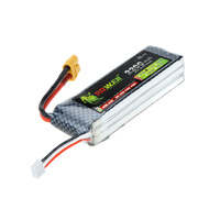 Lion Power RC Model Toy Lipo Battery 11.1V 2200Mah 30C 45C w/ XT60 Plug for Align TREX 450 Helicopter RC Airplane Car