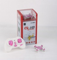 F08601 ChengXing CX-10 4 Channel 2.4G Quadrocopter 4CH with 6 Axis gyro RC Quadcopter Remote Control Toys
