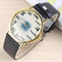2014 New Classic Vintage Quartz Watch  Mathematical Formula Fashion Casual Watch Women Men Wristwatches Three Colors for Choice