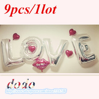 36 inch foil balloons letters Valentine's Day party gathering new toys wedding decoration supplies wholesale free shipping