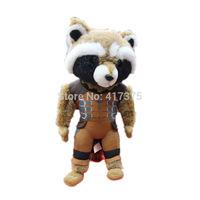 Luminous Super hero Galaxy Guard, Guardians of the Galaxy,Plush Rocket Raccoon,Cartoon Toys Hobbies Dolls Stuffed Toys Movie TV