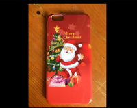Christmas gift Happy New Year Hard Back Case Cover for iPhone 6 6Plus 6 Plus 100pcs/lot