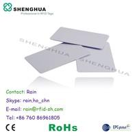 HF UHF RFID PVC Card for RFID Gate
