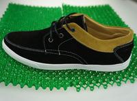 2014 Fashion Men's casuals canvas sneakers for men Shoes male breathable patchwork plimsolls lace-up platform gumshoes, BA -14
