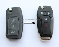for Ford Focus improved folding remote key 434mhz and 315mhz