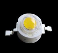 500PCS 1W Lamp High power LED light for bulbs/ PAR /spotlight white/warm white  300mA 3.2-3.4V 95-105LM 30mil Chip Free shipping