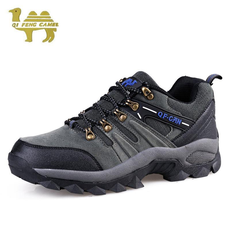 frete grátis 2014 tênis para caminhada ao ar livre outdoor chuteiras escalada couro homem sapatos respirabilidade 308(China (Mainland))