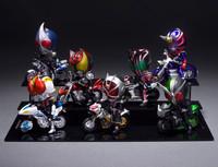 Free shipping new genuine bulk bandai motorcycle Masked Rider figure models